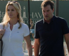 Lacoste White Polo Shirt Worn by Charlize Theron in Bombshell (2)