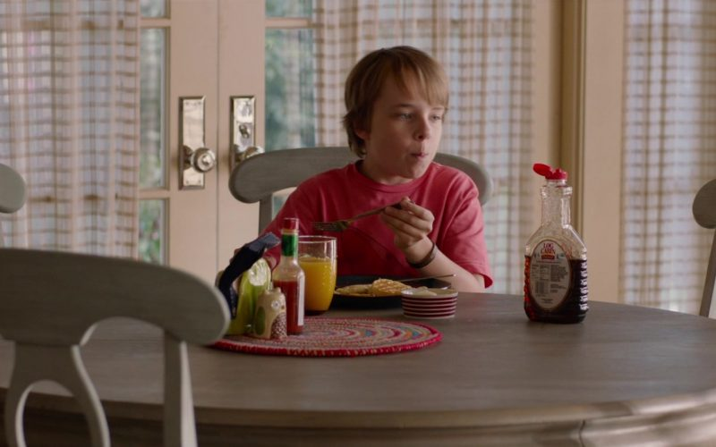 Log Cabin Syrup Enjoyed by Ed Oxenbould in Alexander and the Terrible, Horrible, No Good, Very Bad Day (1)