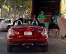 MINI Roadster Cooper S Convertible Red Car in Alexander and the Terrible, Horrible, No Good, Very Bad Day (1)