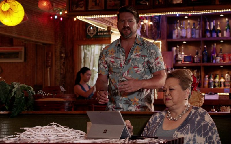 Microsoft Surface Tablet Used by Amy Hill as Teuila 'Kumu' Tuileta in Magnum P.I. Season 2 Episode 14 (3)