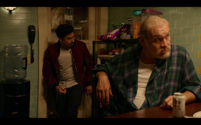 Modelo Beer Enjoyed by Joaquín Cosio as Pop in Gentefied S01E02 Bail Money (1)
