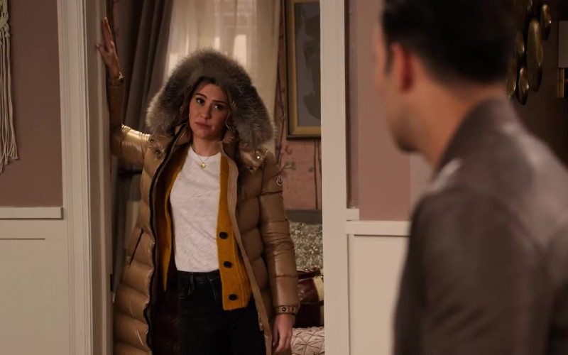 Moncler Down Coat Worn by Chelsea Kane as Ava in The Expanding Universe of Ashley Garcia Season 1 Episode 7