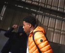 Moncler Orange Down Jacket Worn by YoungBoy NBA in Lil Top (1)
