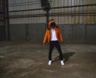 Moncler Orange Down Jacket Worn by YoungBoy NBA in Lil Top (2)