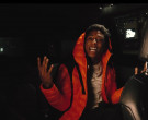 Moncler Orange Down Jacket Worn by YoungBoy NBA in Lil Top (3)