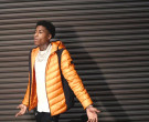 Moncler Orange Down Jacket Worn by YoungBoy NBA in Lil Top (5)