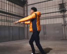 Moncler Orange Down Jacket Worn by YoungBoy NBA in Lil Top (7)