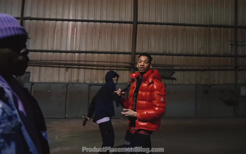 Moncler Red Jacket in Lil Top by NBA YoungBoy (2020)