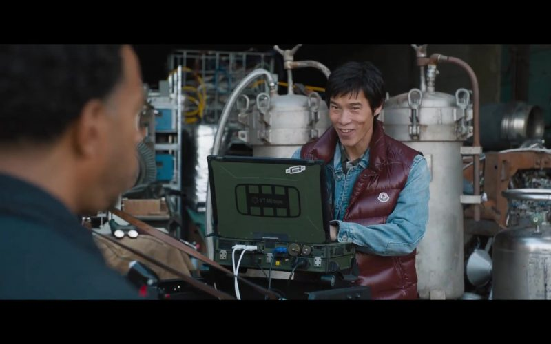 Moncler Vest and VT Miltope Computer in Fast & Furious 9 (2020)