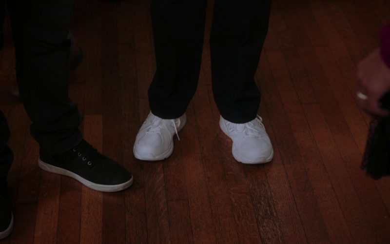 New Balance All-White Leather Sneakers Worn by Andre Braugher as Raymond Jacob Holt in Brooklyn Nine-Nine Season 7 (1)