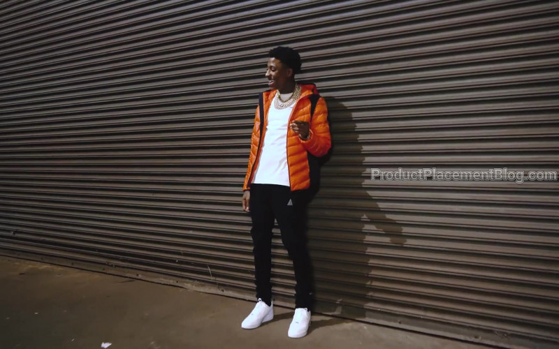 Nike Air All-White Sneakers Worn by NBA YoungBoy in Lil Top by NBA YoungBoy (2020)
