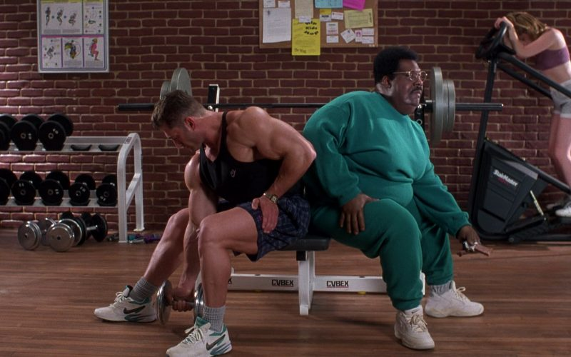 Nike Shoes, Cybex, StairMaster in The Nutty Professor (1996)