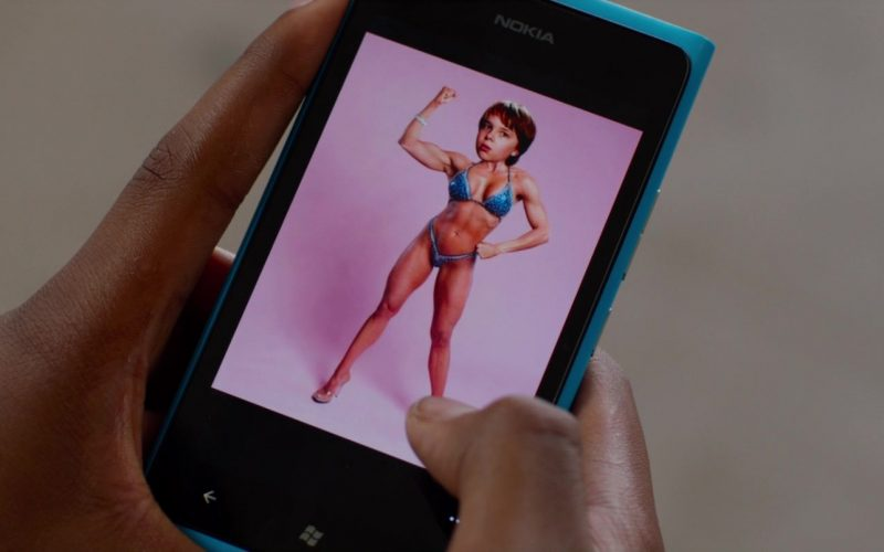 Nokia Lumia Blue Smartphone Used by Mekai Curtis in Alexander and the Terrible, Horrible, No Good, Very Bad Day (1)