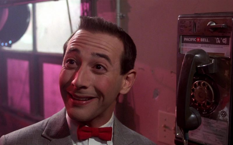 Pacific Bell Payphone Used by Paul Reubens in Pee-wee's Big Adventure