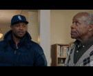 Ralph Lauren Blue Down Jacket Worn by Ser'Darius Blain in Jumanji The Next Level (3)