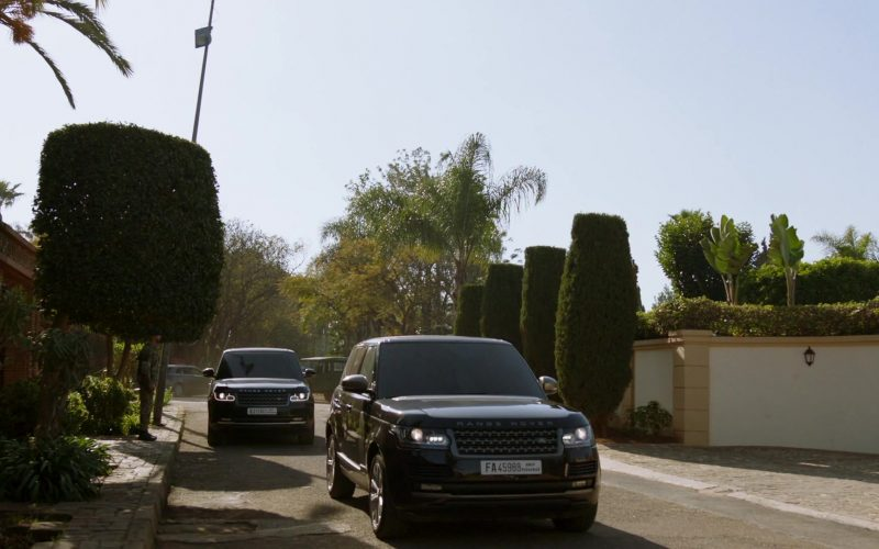 Range Rover Vogue Black Cars in Homeland Season 8 Episode 2 (1)