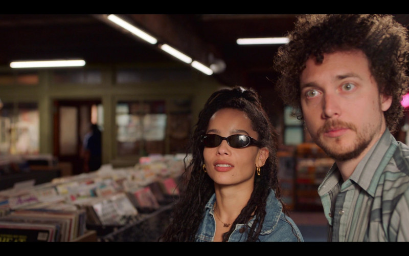 Ray-Ban Women's Sunglasses Worn by Zoë Kravitz as Rob in High Fidelity Season 1 Episode 4 Good Luck and Goodbye (3)