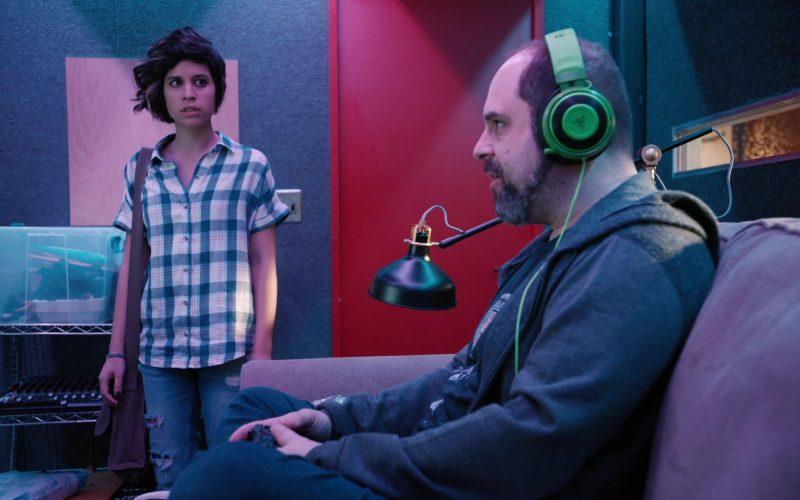 Razer Green Headphones in Mythic Quest Raven's Banquet Season 1 Episode 6 Non-Player Character (2020)