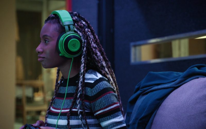 Razer Headphones Used by Imani Hakim as Dana in Mythic Quest Raven's Banquet Season 1 Episode 1 Pilot (2020)