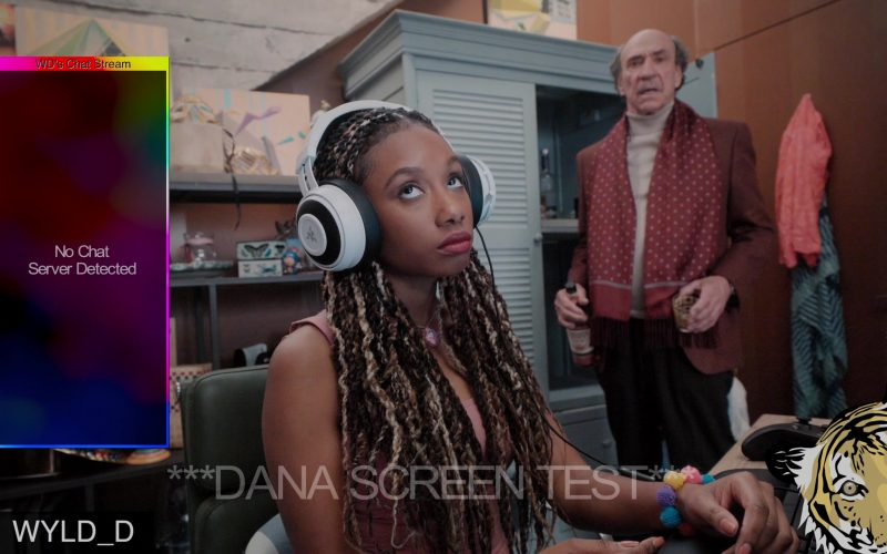Razer Headphones Used by Imani Hakim as Dana in Mythic Quest Raven's Banquet Season 1 Episode 6 Non-Player Character (2)