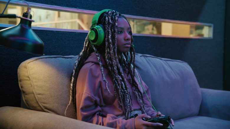 Razer Headset Used by Imani Hakim as Dana in Mythic Quest Raven's Banquet Season 1 Episode 2 The Casino (1)