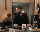 Razer Laptop Computer Used by Rob McElhenney as Ian Grimm in Mythic Quest Raven's Banquet Season 1 Episode 6 Non-Player Character (1)