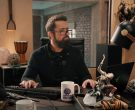 Razer Laptop Computer Used by Rob McElhenney as Ian Grimm in Mythic Quest Raven's Banquet Season 1 Episode 6 Non-Player Character (2)