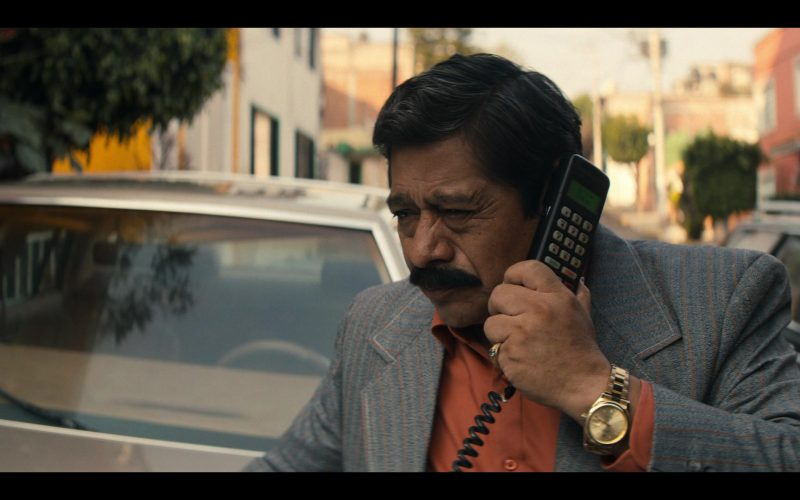 Rolex Men's Gold Watch in Narcos Mexico Season 2 Episode 7 Truth and Reconciliation (2020)