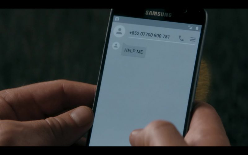 Samsung Galaxy Smartphone in Doctor Who Season 12 Episode 6 Praxeus (2020)