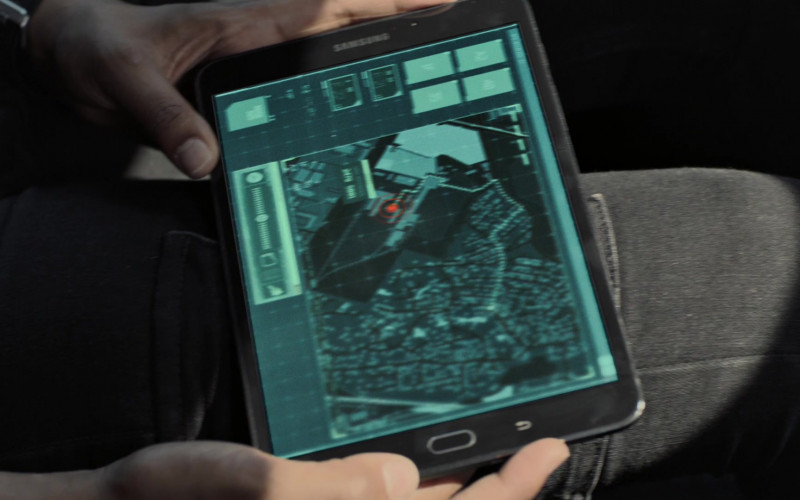Samsung Galaxy Tablet in Strike Back S08E02 (2020)