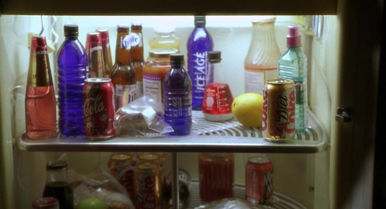Seagram's, Miller Lite, Coca-Cola, Diet Coke, Ice Age Glacial Water in Nutty Professor II The Klumps (2000)