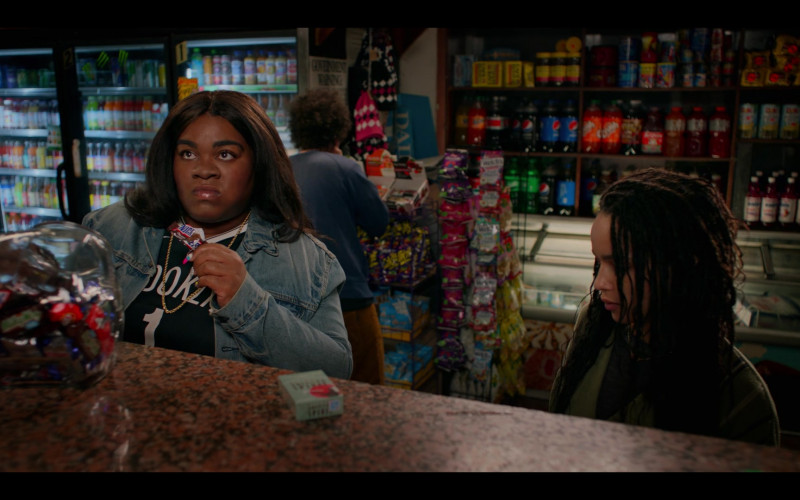 Snickers Chocolate Bar Enjoyed by Da'Vine Joy Randolph as Cherise in High Fidelity Season 1 Episode 2