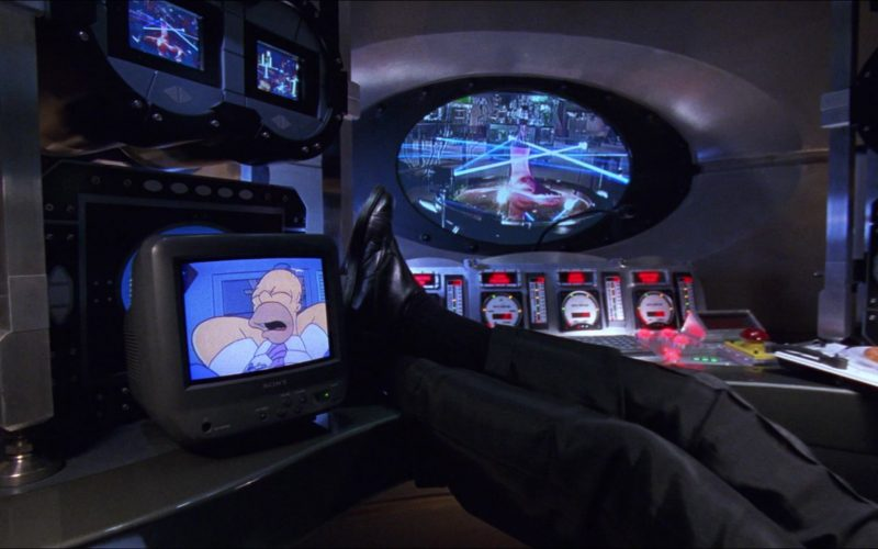Sony TV in Inspector Gadget (1999)