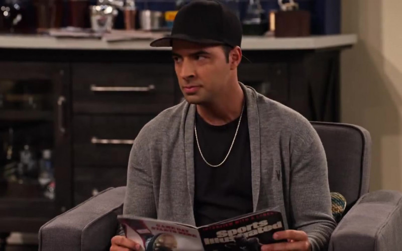 Sports Illustrated Magazine Held by Jencarlos Canela as Victor in The Expanding Universe of Ashley Garcia