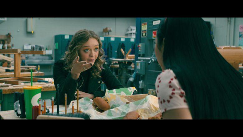 Subway Food Enjoyed by Lana Condor as Lara Jean Song Covey and Emilija Baranac as Gen (1