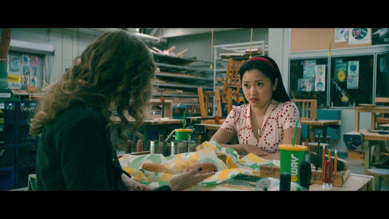 Subway Food Enjoyed by Lana Condor as Lara Jean Song Covey and Emilija Baranac as Genevieve 'Gen' in To All the Boys: P.S. I Still Love You (2020) Movie