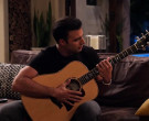 Taylor Guitar Used by Jencarlos Canela as Victor in The Expanding Universe of Ashley Garcia Season 1 Episode 8 (3)