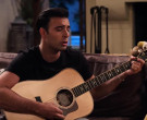 Taylor Guitar Used by Jencarlos Canela as Victor in The Expanding Universe of Ashley Garcia Season 1 Episode 8 (4)