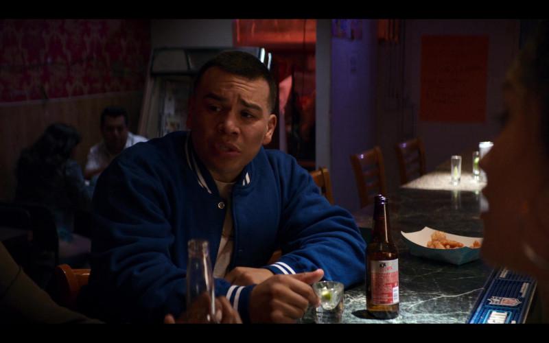 Tecate Beer Bottle in Gentefied S01E01 Casimiro (2020)
