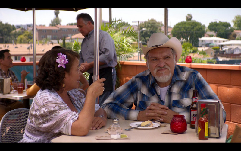 Tecate Beer Enjoyed by Joaquín Cosio as Pop in Gentefied S01E07 Brown Love