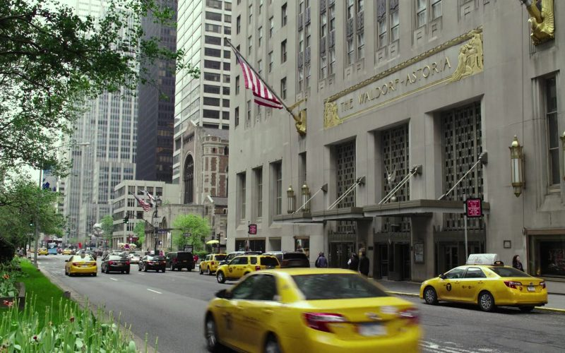 The Waldorf Astoria Hotel in Pee-wee's Big Holiday (2016)