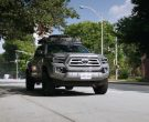 Toyota Tacoma Pickup Truck in MacGyver Season 4 Episode 1 Fire + Ashes + Legacy = Phoenix (1)