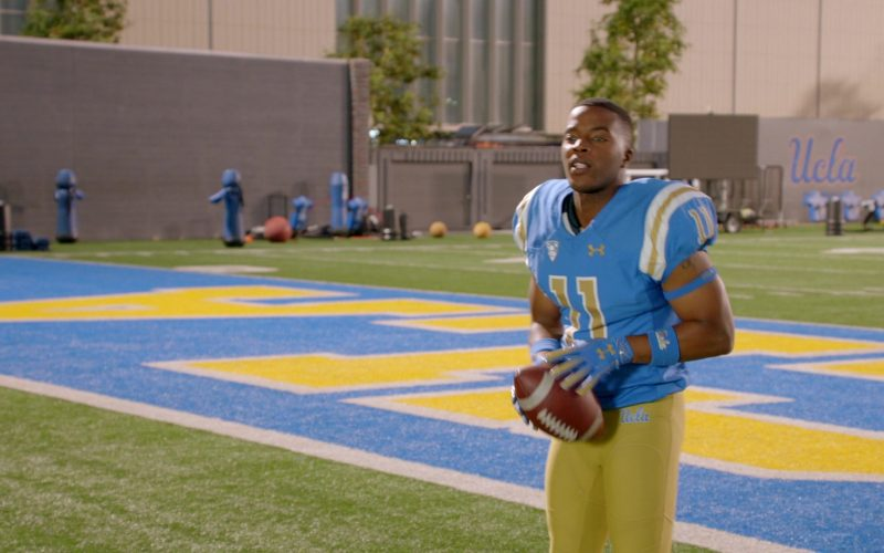 Under Armour Jersey and Football Gloves Worn by Daniel Ezra as Spencer James in All American Season 2 Episode 12 Only Time Will Tel
