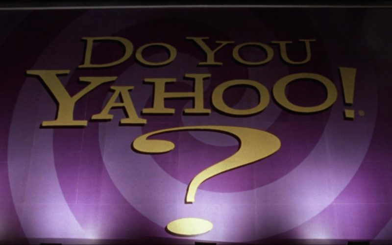 Yahoo! Search Engine in Inspector Gadget (1999)