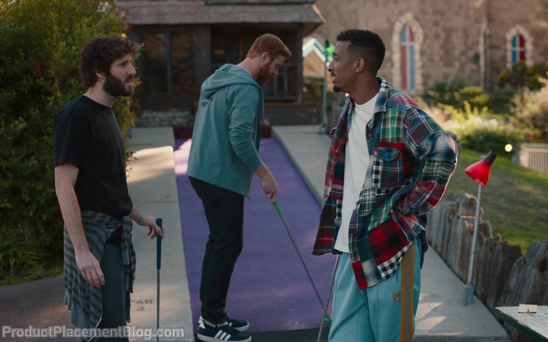 Adidas Blue Sneakers Worn by Andrew Santino as Mike in Dave S01E01 The Gander (1)