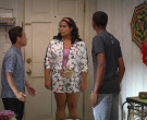 Adidas Floral Jacket & Shorts Outfit Worn by Jessica Marie Garcia as Jasmine Flores in On My Block (10)