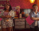 Adidas Floral Jacket & Shorts Outfit Worn by Jessica Marie Garcia as Jasmine Flores in On My Block (3)