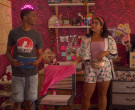 Adidas Floral Jacket & Shorts Outfit Worn by Jessica Marie Garcia as Jasmine Flores in On My Block (4)