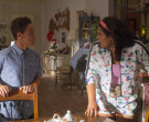 Adidas Floral Jacket & Shorts Outfit Worn by Jessica Marie Garcia as Jasmine Flores in On My Block (7)