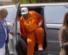 Adidas Orange Tracksuit and Tee Outfit in On My Block S03E06 (1)